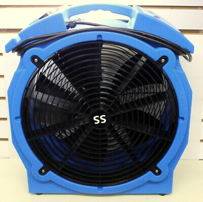 AF Elite SS Axial Airmover KB510-B By ASD/Bed Bag Heat Treat/Water Damage Restor