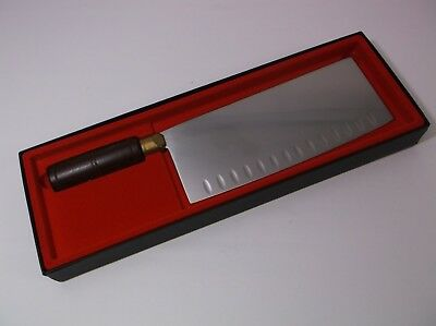Dexter Connoisseur 82CE-8 Duo Granton Edge Chinese Chef Knife 8X3.25 Blade New!!