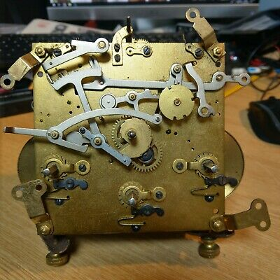 Clock Movement For Spares / Repair. poss Hamburg American Clock Co.