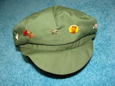 Vintage Chinese Communist party Hat / cap, Mao Zedong