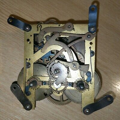 Vintage Clock Movement For Spares / Repair, possibly German