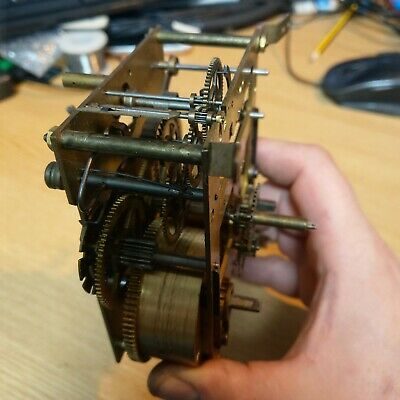 Vintage Clock Movement For Spares / Repair, possibly German (Kienzle?)