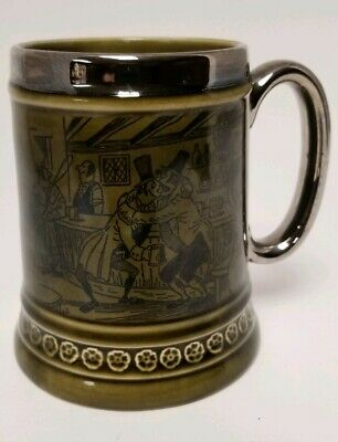 Vintage Princess House Old English Ironstone Tankard Mug Made in England 1970's
