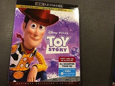 Disney Pixar Toy Story Ultimate Collector Edition Blu-Ray,4K