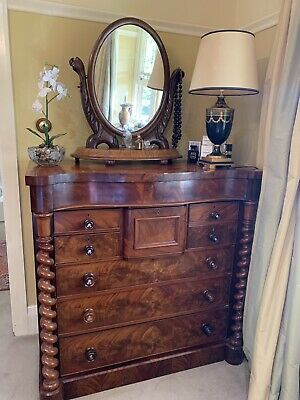antique mahogany chest of drawers. Hey Watchers. Who Wants It?