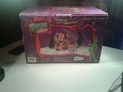 Dept 56 Dr Seuss How The Grinch Stole Christmas Cindy Lou Who's House New In Box