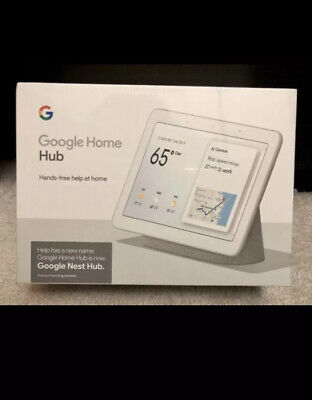 New! Google Nest (HOME)Hub with Google Assistant (GA00515-US)