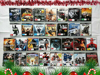 Playstation 3 PS3 Various Games Over 100 Titles: Save When You Buy 2 or More