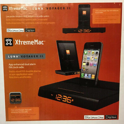 XTREMEMAC LUNA VOYAGER Apple iPod iPhone 30 Pin Audio Dock