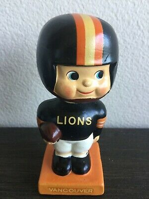 Vancouver Lions Vintage Bobblehead Extremely Scarce Canada Hockey Nodder Mint