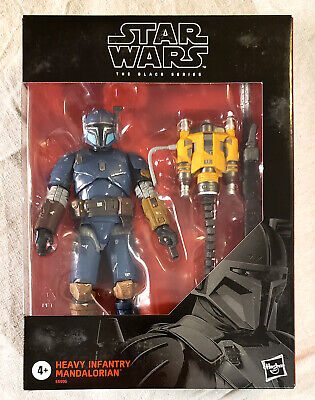 "In Hand STAR WARS Black Series 6"" HEAVY INFANTRY The MANDALORIAN Action Figure"