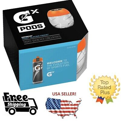 Gatorade GX Pods -Glacier Freeze Blue One 4 Pack IN STOCK Fast ship w/ tracking!