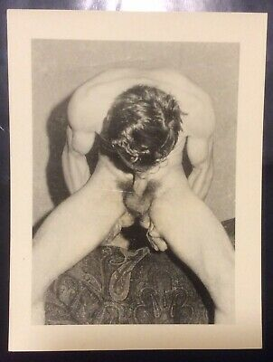 Vintage Gay Photo In Black And White