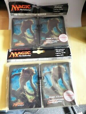 Magic The Gathering Ultra Pro Sleeves 2 Packs Of 80 Sleeves