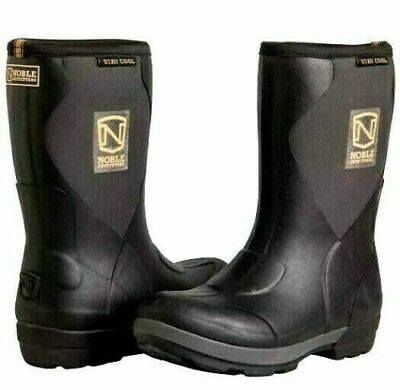 MENS NOBLE OUTFITTERS MUDS Neoprene Waterproof Muck Wellies Mid Boots SIZE 9.5