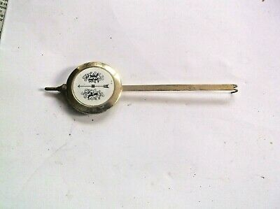 A Pendulum From An Old Small Wall  Clock 33G Ref Her1