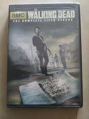 New The Walking Dead The Complete Fifth Season Sealed