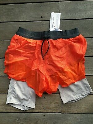 NIKE TECH PACK 2in1 kurze Laufshorts Gr.S transparente