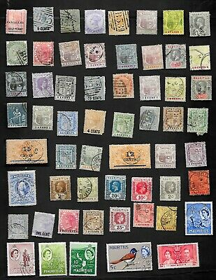 Mauritius - Collection Of 69 Very Old Stamps - Nice