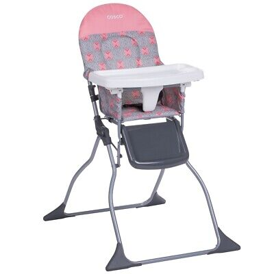 Folding High Chair Portable Baby Toddler Food Eating Feeding Seat Full Size Tray
