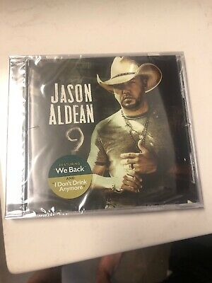JASON ALDEAN - 9 Album CD - BRAND NEW SEALED  Free Shipping