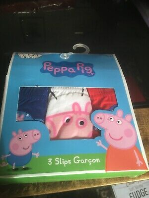 peppa pig briefs brand new age 6 to 8 years 3 pairs