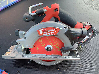 Milwaukee M18CCS55-0 18V M18 165mm Fuel Brushless Circular Saw Pre-owned 4.0ah