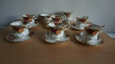 Royal Albert old country roses part coffee set