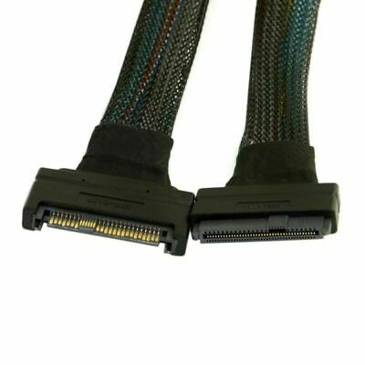 50cm U.2 U2 SFF-8639 NVME PCIe SSD Cable Male to Female Extension 68pin