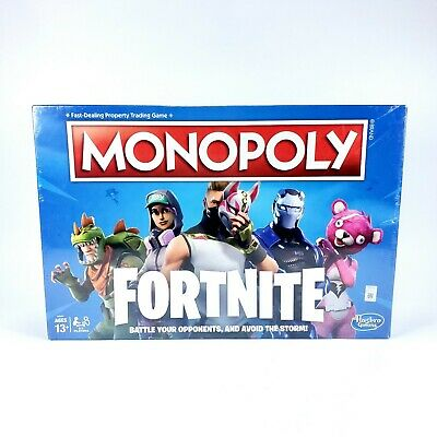NEW Monopoly Board Game Fortnite Edition *FREE SHIPPING*