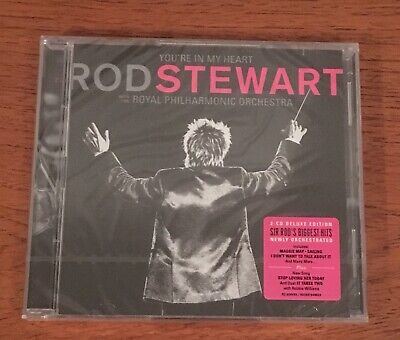 You're in My Heart - Rod Stewart with The Royal Philharmonic Orchestra -2CD New