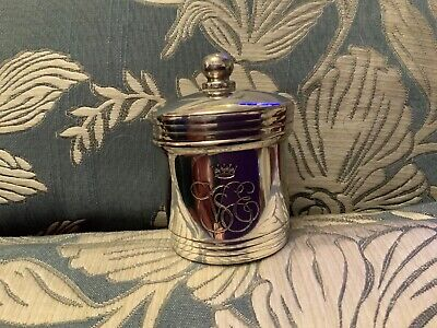 Venice Simplon Orient Express Luxury Train Rare Silver Plate Candle Holder