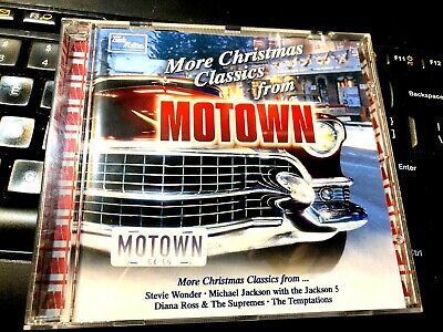 More Christmas Classics From Motown CD Michel Jackson The Temptations Supremes