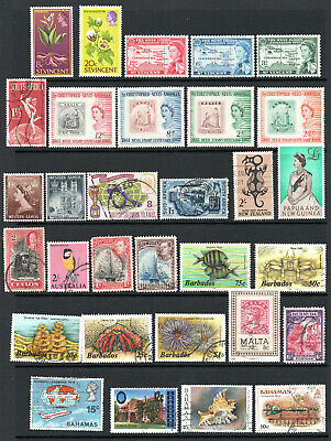 Commonwealth - Selection X 31 M/M & Used Stamps.