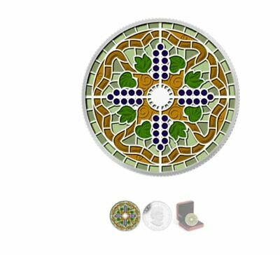 Canada 2014 $20 Pure Silver Coin Stained Glass: Casa Loma Tax Exempt