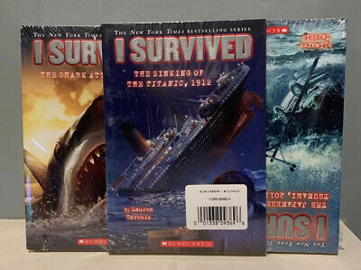 I Survived 13 Book Set Lot Brand New! Great Gift! Disaster Pack Series Tarshis