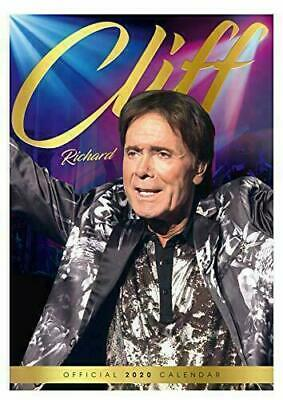 The Official Cliff Richard 2020 A3 Wall Calendar Brand New & Sealed