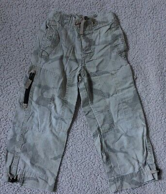 NEXT Girl's Cute Cargo/Camouflage Trousers Summer Age 4