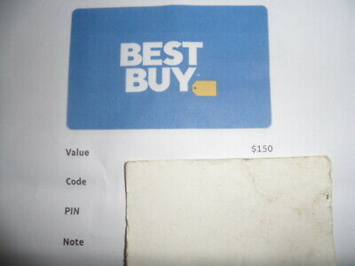 Best Buy Gift Card Value $150