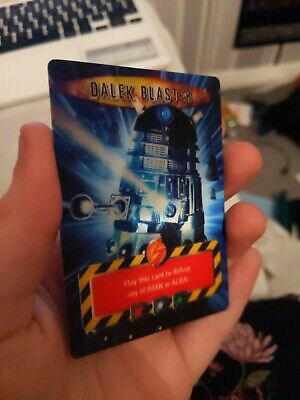 Doctor Who Battles In Time - Dalek Blaster Hologram Trading Card Ultra Rare 2007