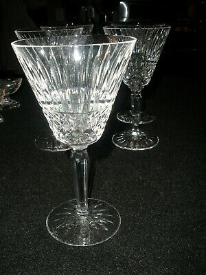 Waterford Crystal Tramore (Maeve cut) 6 7/8 water goblet htf mint