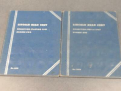 Lincoln Cent Collection - Whitman Books Vol. 1 & 2