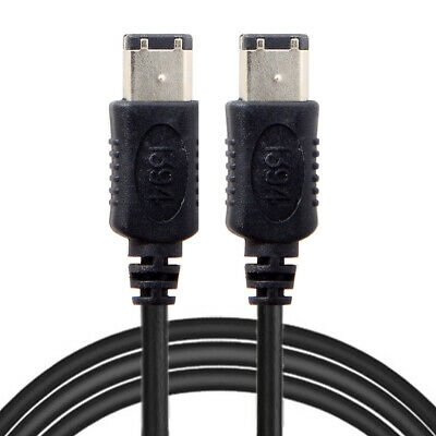 CY IEEE 1394 6Pin Female to 1394b 9Pin Male Firewire 400 to 800 Cable 20cm