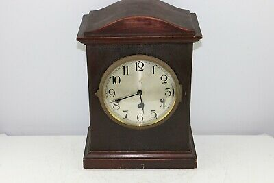 Antique German Kienzle Westminster Chime Large Wooden Mantel Clock