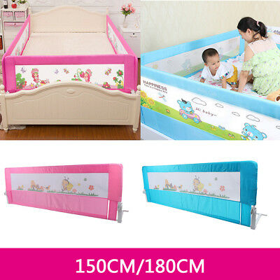 150/ 180cm Folding Child Toddler Bed Rail Safety Protection Guard 2 Colours