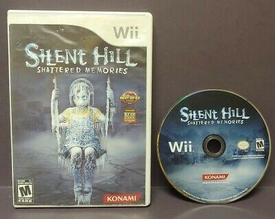 Silent Hill Shattered Memories  Nintendo Wii and Wii U Game Tested Horror Konami