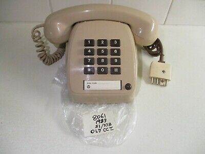1983 Retro  Telephone 806 - Tested & Working. 12 Button Type. Fantastic Cond.