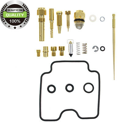 GOOD QUALITY 02-05 FOR Yamaha YFM 660 Grizzly Carburetor Rebuild Kit Carb Repair