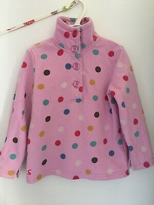 💕 Cute Girlie Joules Jumper Sweatshirt Age 4 Years 💕