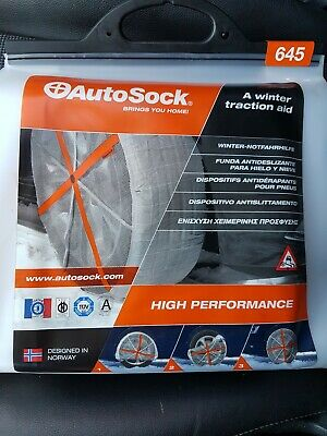 Pack 2 chaussette neige autosock 215/60r15